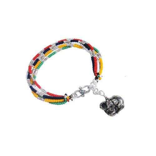 Vivian Yang Liu Li Art Chinese Zodiac Oxen Charm Bracelet