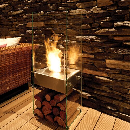 EcoSmart Fire Ghost Bio-Ethanol Fireplace