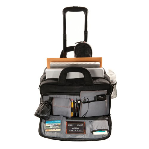 ECO STYLE Luxe Laptop Briefcase