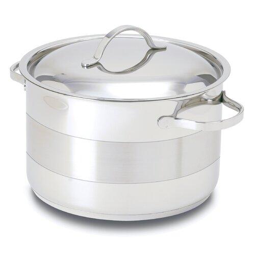 Gourmet Stainless Steel Round Dutch Oven