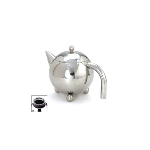 Cuisinox 0.94-qt. Footed Teapot with Infuser