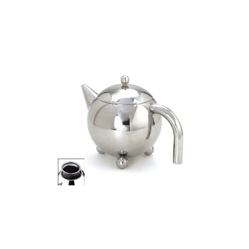 Cuisinox 51 Oz Footed Teapot with Infuser