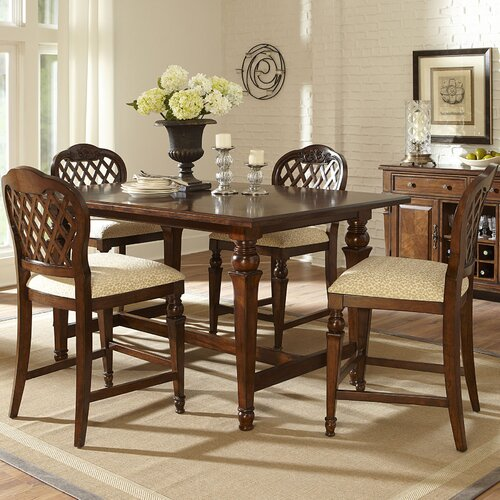 Woodridge 5 Piece Counter Height Dining Set