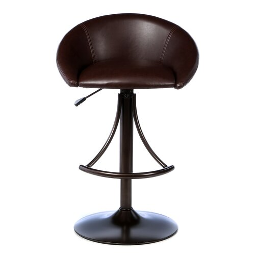 "Hillsdale Furniture Webster 24"" Adjustable Swivel Bar Stool"