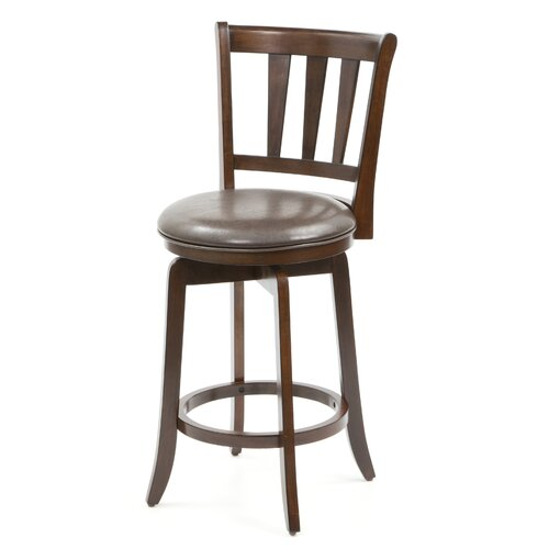 Hillsdale Furniture Swivel Presque Isle Bar Stool with Cushion