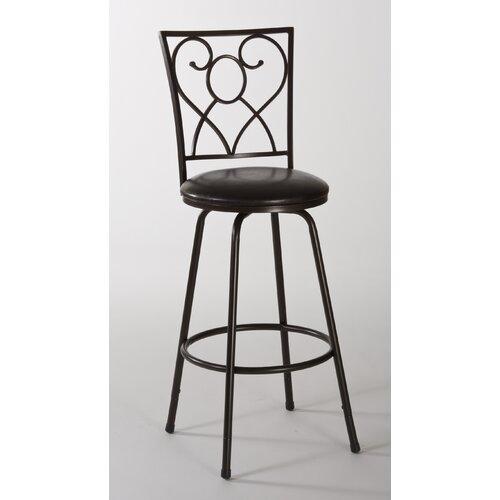 "Hillsdale Furniture Bellesol 26"" Adjustable Swivel Bar Stool"