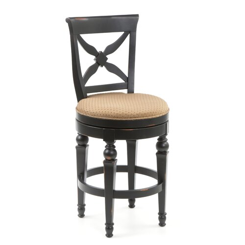 Hillsdale Northern Heights 26 Quot Swivel Bar Stool With