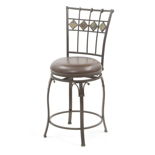 "Hillsdale Furniture Lakeview 24"" Swivel Bar Stool"