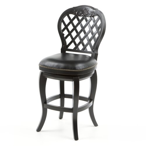 "Hillsdale Furniture Braxton 26"" Swivel Bar Stool with Cushion"