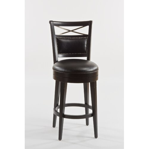 Tate Street Swivel Bar Stool with Cushion