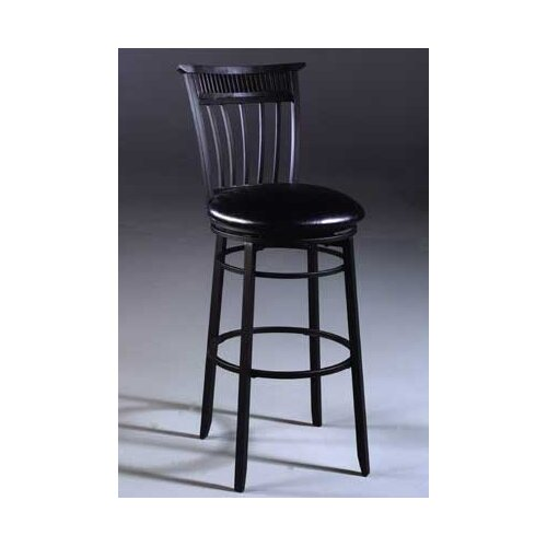 "Hillsdale Furniture Cottage 26"" Swivel Bar Stool with Cushion"