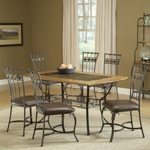 Hillsdale Furniture Lakeview 7 Piece Dining Set