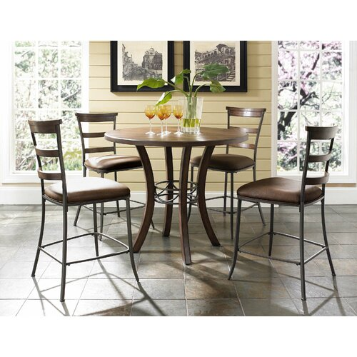Hillsdale Furniture Cameron 5 Piece Counter Height Dining Set