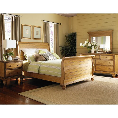 Hillsdale Furniture Hamptons Sleigh 4 Piece Bedroom Collection