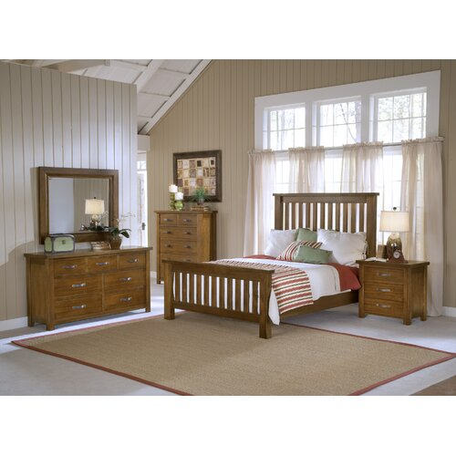 Hillsdale Furniture Outback Slat 5 Piece Bedroom Collection