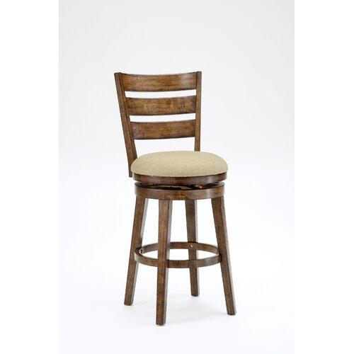 "Hillsdale Furniture 30.5"" Swivel Bar Stool with Cushion"