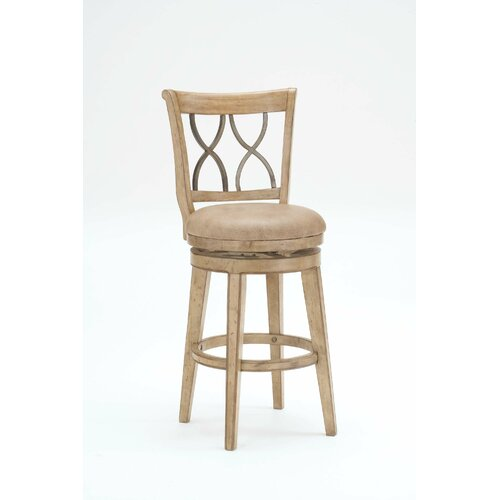 "Hillsdale Furniture Reydon 30"" Swivel Bar Stool with Cushion"