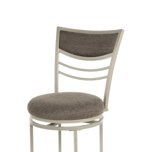 "Hillsdale Furniture Amherst 30"" Swivel Bar Stool with Cushion"