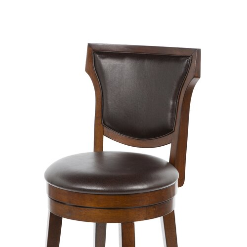 "Hillsdale Furniture Country 30"" Swivel Bar Stool with Cushion"