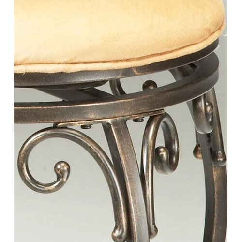 "Hillsdale Furniture Knightsbridge 30"" Swivel Bar Stool with Cushion"