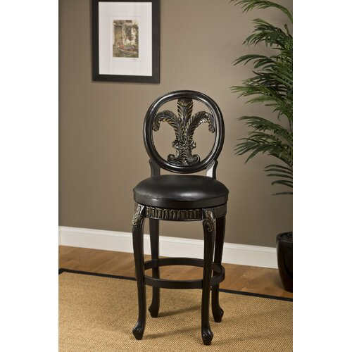 "Hillsdale Furniture Fleur De Lis 30"" Swivel Bar Stool"