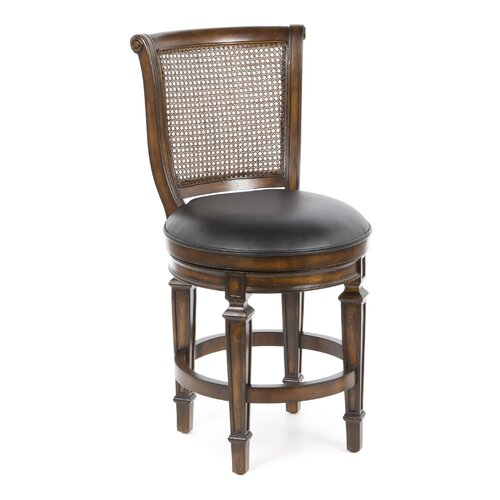 "Hillsdale Furniture Dalton 24"" Swivel Bar Stool with Cushion"