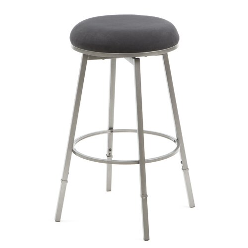 "Hillsdale Furniture Sanders 24"" Swivel Bar Stool with Cushion"