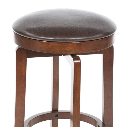 "Hillsdale Furniture 25"" Swivel Bar Stool with Cushion"