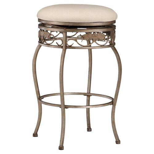 "Hillsdale Furniture Bordeaux 30"" Swivel Bar Stool with Cushion"