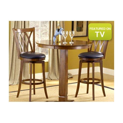"Hillsdale Furniture Mansfield 30"" Swivel Bar Stool"