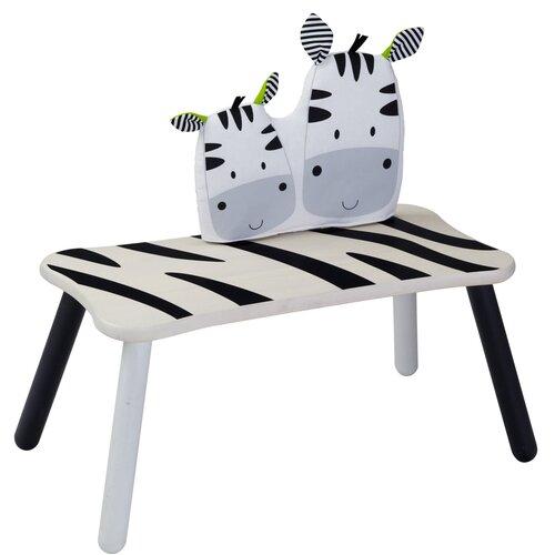 Wonderworld  Kids' Zebra Long Bench