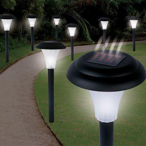 TerraTrade Bright Solar Accent Light (Set of 8)