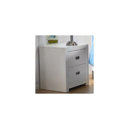PALI Novara 2 Drawer Nightstand