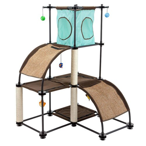 Kitty City Kitty City Steel Claw Scratch Tower