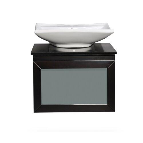 "Belmont Decor Newport 30"" Bathroom Vanity Set with Single Sink"