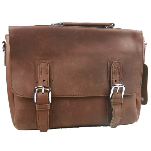 Vagabond Traveler Leather Laptop Briefcase
