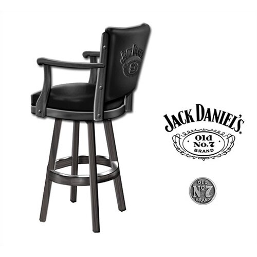 Jack Daniel's Lifestyle Products Jack Daniel's Swivel Bar Stool