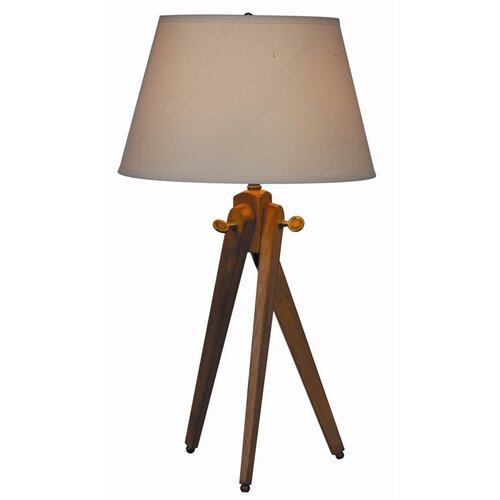 """100 Essentials Woody 27"""" H Table Lamp with Empire Shade"""