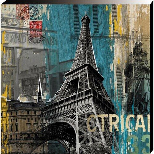 Tour Eiffel Vintage Advertisement