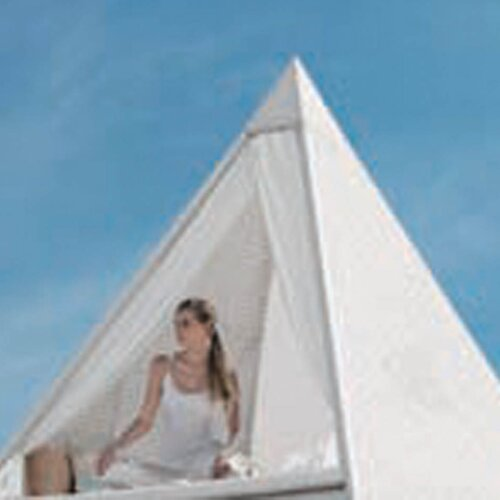 Palace Pyramid Daybed with Cushions