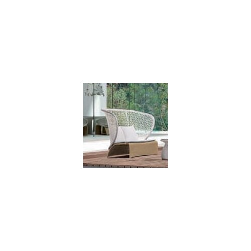 Exotica High Back Loveseat with Cushions