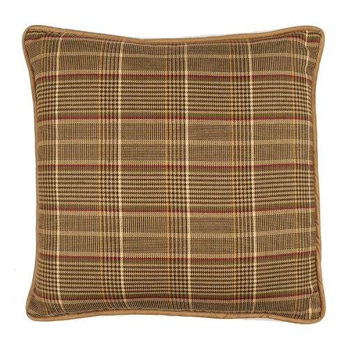 Highroad Plaid Cotton Pillow