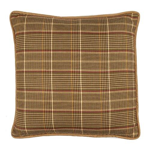 TOSS by Daniel Stuart Studio Highroad Plaid Cotton Pillow