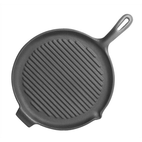 "Universal Housewares Pre-Seasoned 10"" Grill Pan and Griddle"