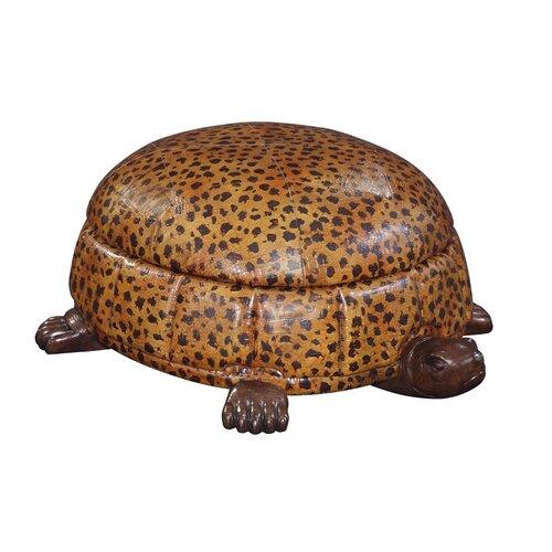 Brown Animal Print Ottoman Wayfair
