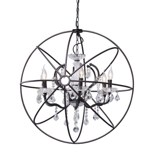 Diamond 6 Light Ceiling Lamp