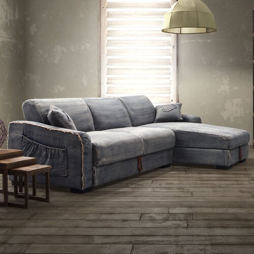 Brand Denim Sectional