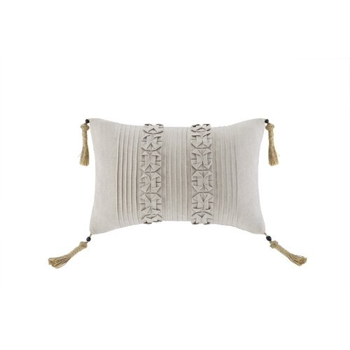 Artology Sashiko Linen Accent Pillow