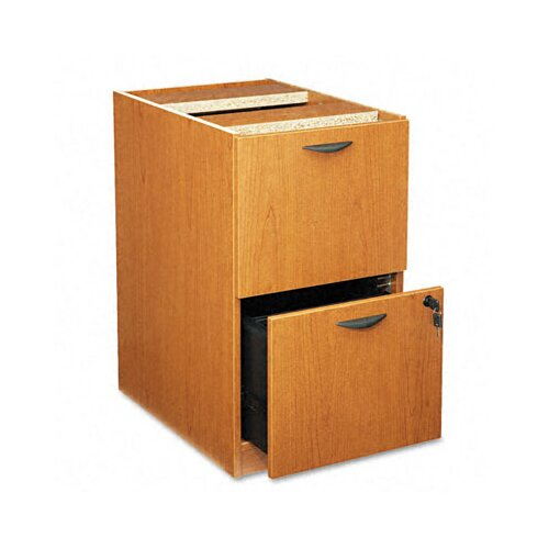Basyx by HON Laminated Under-Desk Pedestal File with Lock