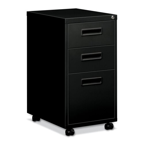 Basyx by HON Embark Series 3-Drawer Mobile File Pedestal File